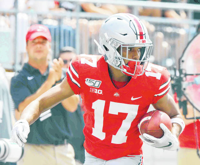 Chris Olave, shown here against Cincinnati, was named special teams player of the game against Indiana.