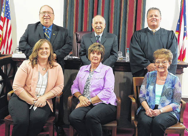They Probate Court staff consists of Chad L. Carey, Judge; Mark J. Miars, Magistrate; Sue Barr, Chief Deputy Clerk; Joy McGowan, Deputy Clerk; April Beitusch, Deputy Clerk; and Joe Allen, Senior Bailiff.