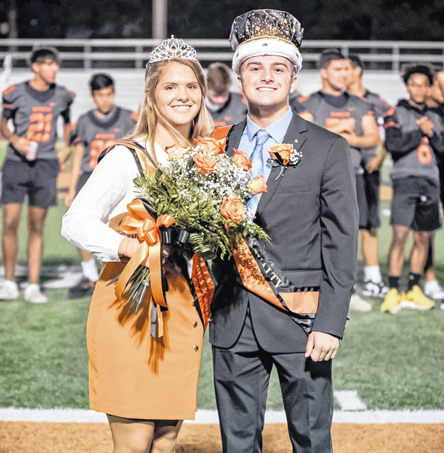 Wilmington High School crowned its 2019-20 homecoming royalty Thursday night — Queen Petra Bray and King Rory Bell.