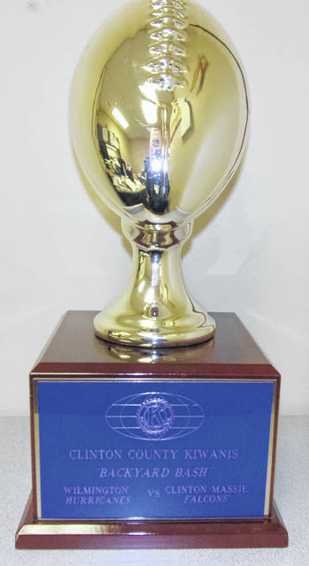 The Backyard Bash trophy