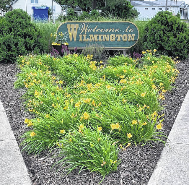 The McDermott Village Neighborhood Watch has made beautifying and maintaining the Welcome to Wilmington sign a community project this year.