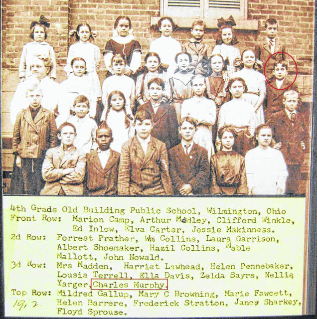 "This photo is labeled ""4th Grade Old Building Public School, Wilmington, Ohio."" Can you tell us more? Share it at info@wnewsj.com. It is courtesy of the Clinton County Historical Society. The Clinton County History Center is now open Saturdays 10 a.m.-2 p.m. For more info, visit www.clintoncountyhistory.org; follow them on Facebook @ClintonCountyHistory; or call 937-382-4684."