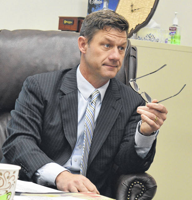 Clinton County Commissioner Kerry R. Steed said, for his part, Legacy Fund grant dollars should not be used for an organization's personnel costs.
