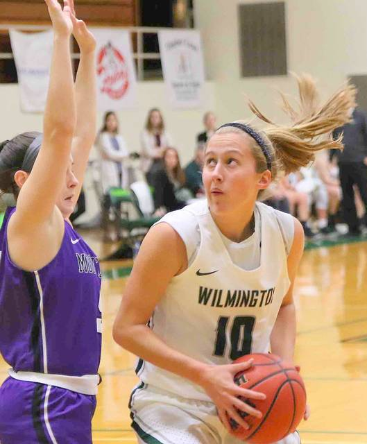 McKayla Binkley is the top returning scorer for the Wilmington College women's basketball team.
