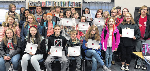 East Clinton Middle School's Astro Achievers.