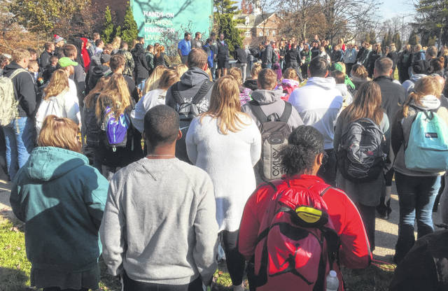 The campus community came out en masse Monday morning for an impromptu prayer vigil in support of sophomore Kane Lewis, who suffered a severed spinal cord in a hunting accident.