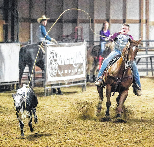 Blanchester Intermediate School fifth-grader Matt East has qualified for the Vegas Tuffest Jr. World Championship Dec. 5-8 in Las Vegas. East qualified in the breakaway roping competition in the 10 and younger age group. For more on East, see SPORTS.