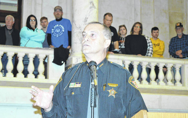 Clinton County Sheriff Ralph D. Fizer Jr. is guest speaker Monday for the annual Clinton County Veterans Day program, this year held inside the county courthouse.