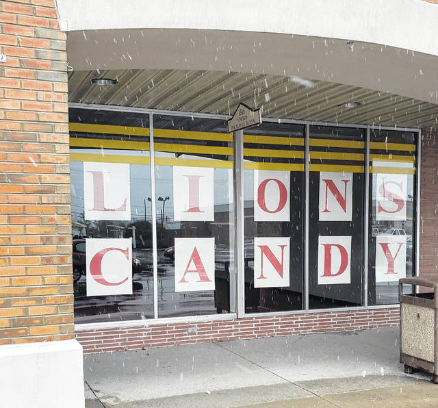 The Lions Candy Store has relocated this year, next to Big Lots on Rombach Avenue.