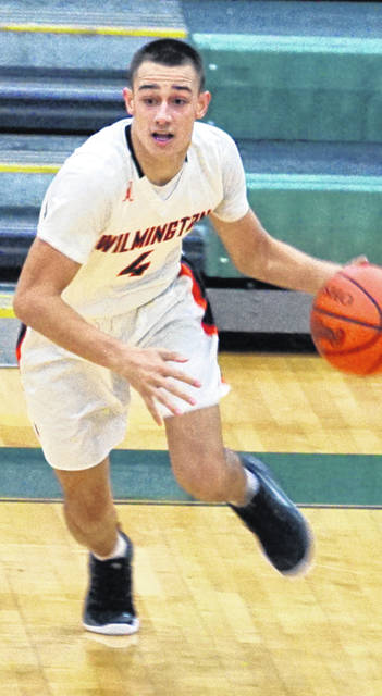 Cam Coomer had 19 points Friday to lead Wilmington in scoring in a 79-56 road loss to Stebbins.