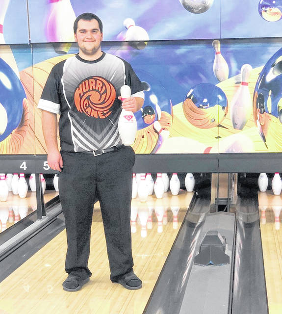 Wilmington senior Elijah Martini was shaking Wednesday at Royal Z Lanes but remained undeterred in his quest for bowling perfection.