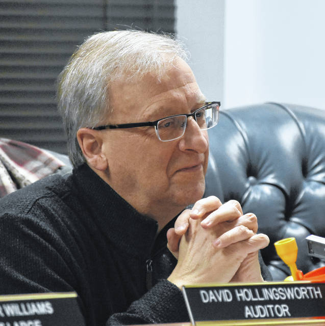 David Hollingsworth was honored at Thursday's Wilmington City Council meeting for his 32 years of service as City Auditor.