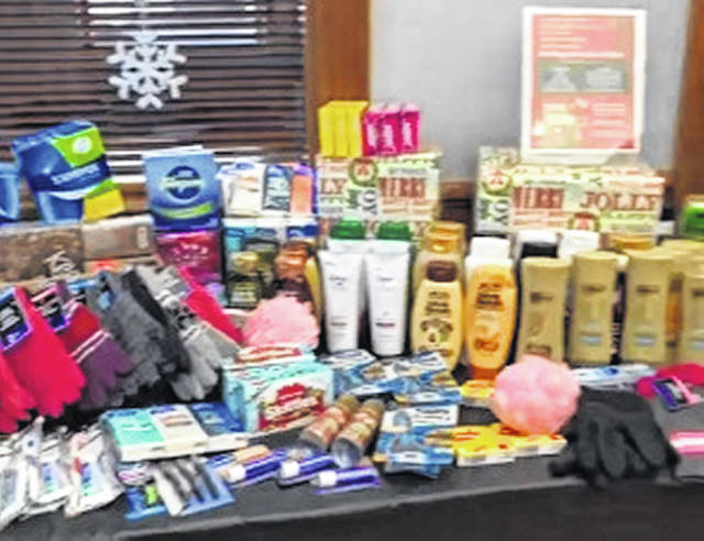 Wilmington Savings Bank was a collection site for the Holiday Donation Drive.