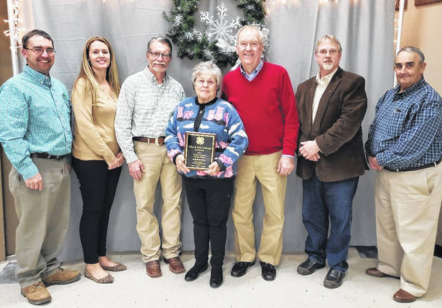 Mike and Judy Cowman were name the 2019 recipient of Clinton County Friend of 4-H.