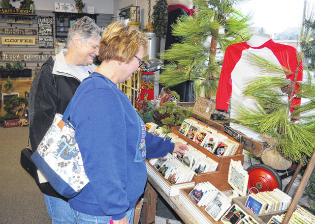 Dozens of stores around Wilmington are ready for Homespun Christmas Saturday and Sunday, including The Wooden Moose, shown at a past Homespun Christmas.