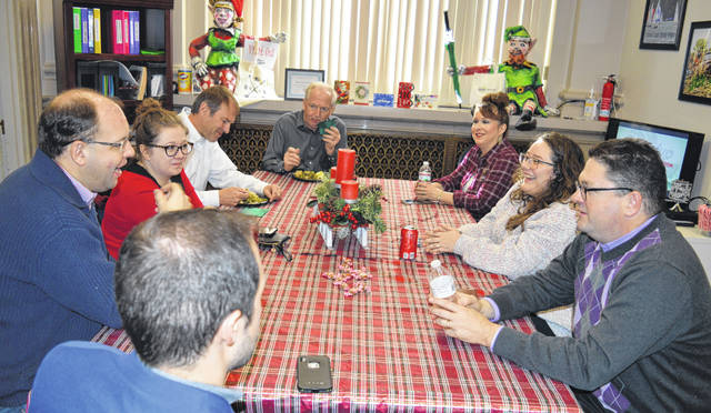 The Clinton County Convention & Visitors Bureau (CVB) held an open house luncheon Friday for City of Wilmington workers to show the CVB's appreciation for all they do.