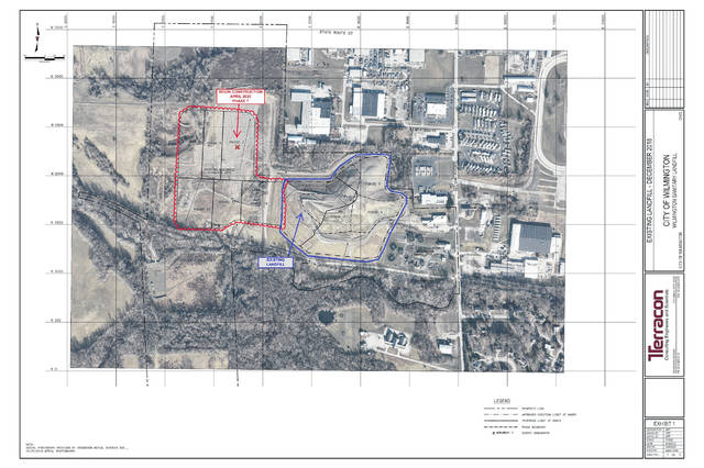 The city's landfill expansion project.