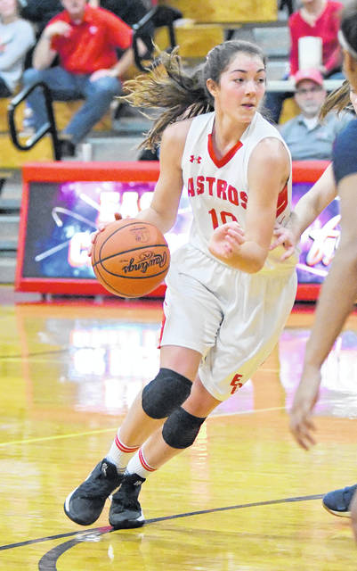 East Clinton's Libby Evanshine had 13 points Thursday in a 67-36 win over Blanchester.