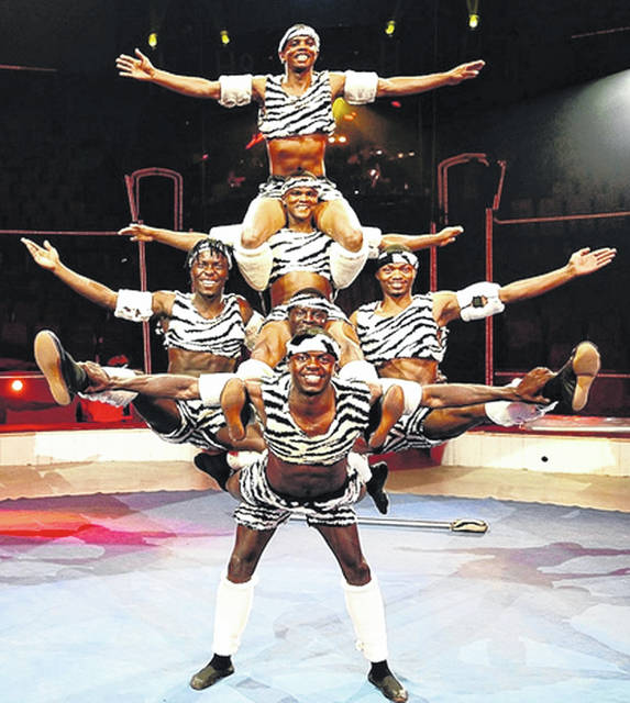 Zuzu Acrobats will be at Wilmington College on Feb. 6.