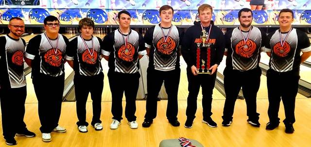 The WHS boys bowling team was second Monday at the Muskingum Invitational at Royal Z Lanes.