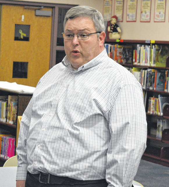 New Vienna Elementary Principal Jason Jones says planning has begun for an author to visit the school's students.