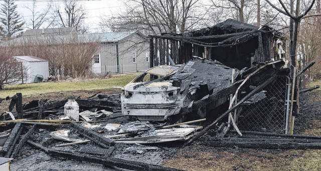 A fire in the early morning hours Sunday destroyed a garage and a car at 772 Mead Street in Wilmington. Wilmington police and fire departments responded at approximately 1:38 a.m. No injuries were reported.