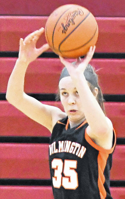 Katie Murphy had 10 point, six rebounds and three assists Saturday in Wilmington's 52-51 win over Williamsburg.