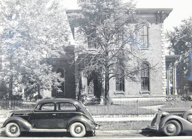 This photo was taken in spring 1938 at the residence of J.M. and Anna Moore at the corner of Main and Mulberry streets in Wilmington. Can you tell us more? Share it at info@wnewsj.com. The photo is courtesy of the Clinton County Historical Society. Like this image? Reproduction copies of this photo are available by calling the History Center. For more info, visit www.clintoncountyhistory.org; follow them on Facebook @ClintonCountyHistory; or call 937-382-4684.