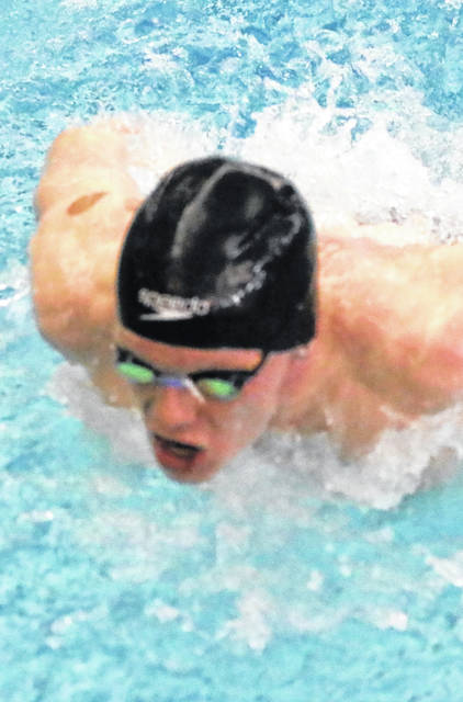 Isak Alin set an Ohio Athletic Conference record with his win in the 200-yard breaststroke and became WC's first OAC men's swim champion since 2016.