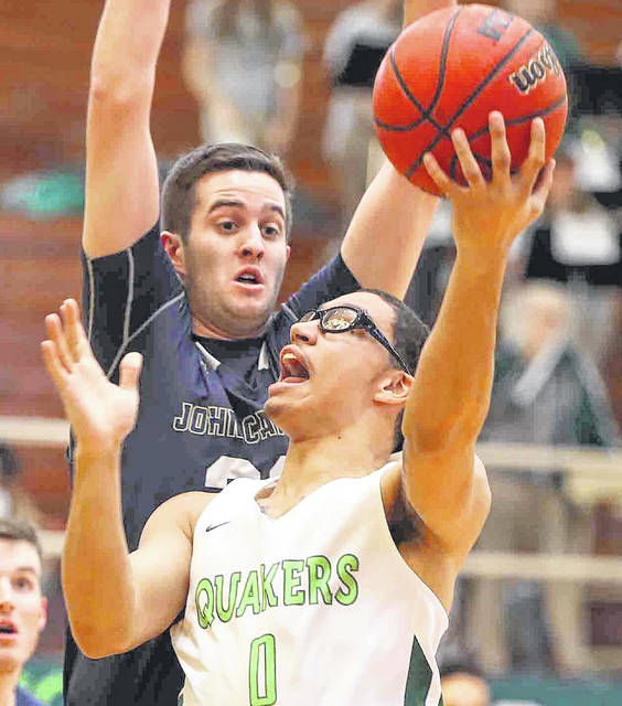Jeffery Mansfield came off KC Hunt's bench Saturday and led the Wilmington College men with 16 points.