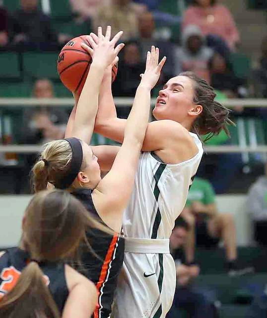 Kelly Noll had 17 points and nine rebounds for Wilmington Wednesday against Otterbein.