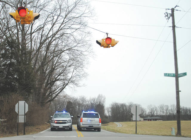 File photo Grinnell Road was closed for several hours Feb. 12 after the shooting took place.