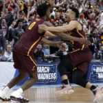 NCAA's storied party crashers includes 'Dunk City,' Loyola