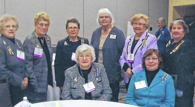 Indian Trail members recently attended the state conference in Dublin, Ohio. Seated are Joyce Peters and Susan Henry. Standing are, from left, Pat McKenzie, Nancy Bernard, Karen McKenzie, Linda Lee, Frances Sharp and Kay McIntire.