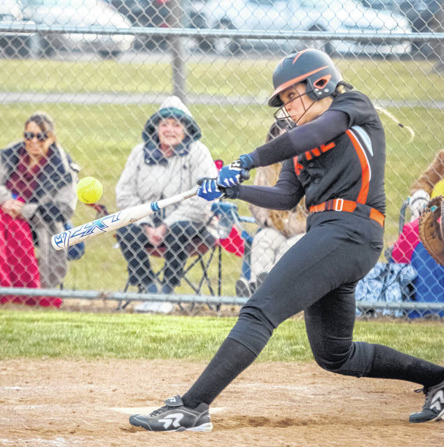 Wilmington's Olivia Veidt has proven to be a strong hitter for the Hurricane.