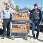 Donatos and anonymous donor donate, deliver hundreds of pizzas to CMH staff