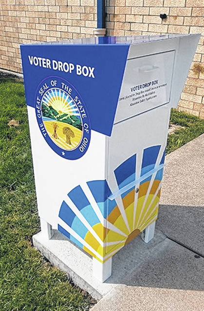 This new Clinton County Board of Elections' drop box is on the Ledex Drive side (south side) of the Clinton County Office Annex building on South Nelson Avenue in Wilmington, outside Entrance B. You can use the drop box both for ballot applications and for voted absentee ballots.