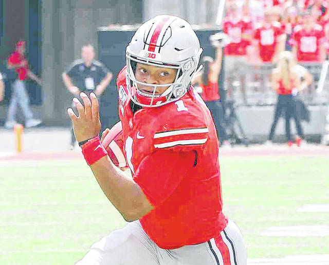 Justin Fields is one of three transfer players expected to do big things at Ohio State, if football resumes this fall.
