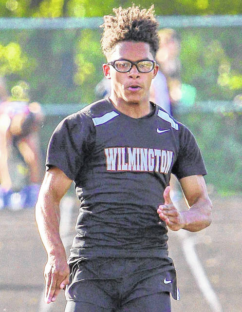 The 2020 spring sports season was cancelled Monday, meaning baseball, softball, tennis, lacrosse and track/field athletes had their seasons end before they started. In the photo is Wilmington's Malik Scott from last season.