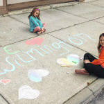 Chalk it up: Love for hometown