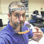 Printing away the pandemic: SSCC prof leads 3-D printed PPE coalition