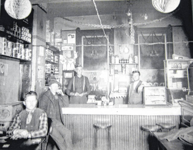 """This photo states, """"Wilmington 1910-1920 — Location unknown but possibly 'The Hat' or 'Zimmies'."""" Can you tell us more? Share it at info@wnewsj.com. The photo is courtesy of the Clinton County Historical Society. Like this image? Reproduction copies of this photo are available by calling the History Center. For more info, visit www.clintoncountyhistory.org; follow them on Facebook @ClintonCountyHistory; or call 937-382-4684."""