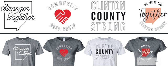 Support local businesses with purchase of a t-shirt through the Wilmington-Clinton County Chamber of Commerce.