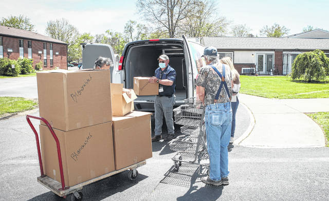 Blanchester Friends Housing in Blanchester was one of the Clinton County delivery locations where senior recipients received spaghetti meals. The other locations were Prairie View Apartments in Wilmington, Apple Tree Apartments in New Vienna, and Community Commons in Wilmington.