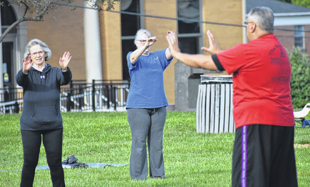 Bob Baylor is back leading locals in his Tai Chi course in Galvin Park on Saturday morning. For more on Tai Chi and Yoga In the Park as well as other activities there, visit the Facebook page Friends of Galvin Park.