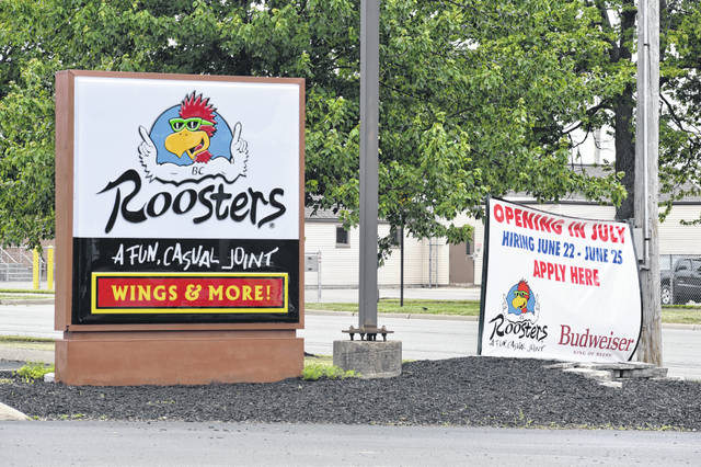 Ready to open in July (the exact date hasn't been set), the new Roosters restaurant in Wilmington is looking to hire locals. In-person open interviews are scheduled from 10 a.m. to 7 p.m. June 22-25.