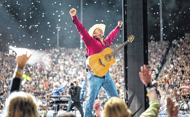 Garth Brooks' one-night-only show can be seen locally at Caesar Creek Flea Market.