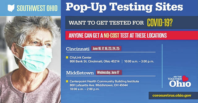 "The state recently announced ""pop-up testing sites"" where anyone can be tested for COVID-19."