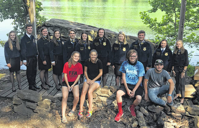This photo taken earlier in the year is of the 2020 East Clinton FFA.