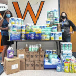 Wilmington City Schools receives donations of food, cleaning supplies from Amazon Air hub